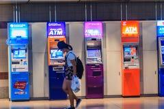 Bangkok Tajlandia, Kwiecień, - 23, 2017: Kolorowy automatyczny narrator Obraz Royalty Free