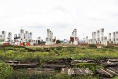 Bangkok, Tajlandia, Lipiec 02, 2017: - Projekt budowlany Electri Fotografia Stock