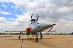 BANGKOK TAJLANDIA, LIPIEC, - 02: Samolotów przedstawienia Obraz Royalty Free