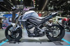 Bangkok Tajlandia, Listopad, - 30, 2018: CFMOTO dystrybutor przy Tajlandia zawody międzynarodowi silnika expo 2018 MOTOROWYM expo fotografia royalty free