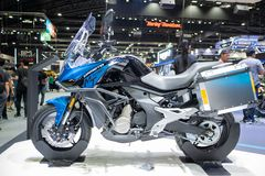 Bangkok Tajlandia, Listopad, - 30, 2018: CFMOTO dystrybutor przy Tajlandia zawody międzynarodowi silnika expo 2018 MOTOROWYM expo zdjęcie royalty free