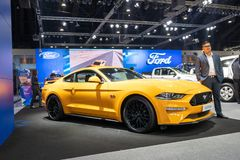 Bangkok Tajlandia, Listopad, - 30, 2018: Ford samochodowy przedstawienie przy Tajlandia zawody międzynarodowi silnika expo 2018 M zdjęcie royalty free