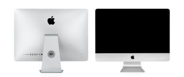 BANGKOK TAJLANDIA, Listopad, - 22, 2015: Fotografia nowy iMac 21 5 Wi Zdjęcie Stock