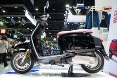 Bangkok Tajlandia, Listopad, - 30, 2018: Lambretta motocykl przy Tajlandia zawody międzynarodowi silnika expo 2018 MOTOROWYM expo zdjęcie royalty free
