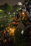BANGKOK TAJLANDIA, LISTOPAD 25 -: Loy Krathong festiwal Zdjęcie Royalty Free