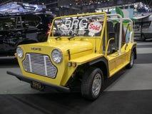 Bangkok Tajlandia, Listopad, - 30, 2018: Samochód od BRG grupy przy Tajlandia zawody międzynarodowi silnika expo 2018 MOTOROWYM e zdjęcia stock