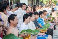 BANGKOK TAJLANDIA, LISTOPAD, - 26, 2011 serie wyświęcenie Zdjęcia Royalty Free