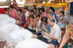 BANGKOK TAJLANDIA, LISTOPAD, - 26, 2011 serie wyświęcenie Obrazy Stock