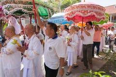 BANGKOK TAJLANDIA, LISTOPAD, - 26, 2011 serie wyświęcenie Obraz Royalty Free