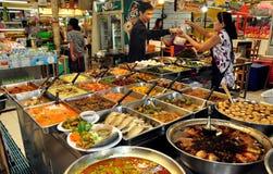 Bangkok, Tajlandia: Lub Tor Kora rynek Obrazy Royalty Free