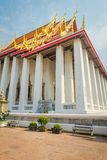 BANGKOK, TAJLANDIA, LUTY 08, 2018: Antyczna Wata Pho świątynia lub świątynia Opiera Buddha, Bangkok Fotografia Stock