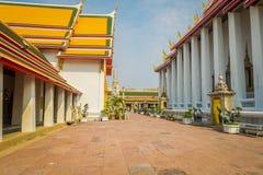 BANGKOK, TAJLANDIA, LUTY 08, 2018: Antyczna Wata Pho świątynia lub świątynia Opiera Buddha, Bangkok Obraz Royalty Free