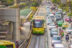 Bangkok Tajlandia, Luty, - 21, 2017: Widok Bangkok JASKRAWY, Fotografia Royalty Free