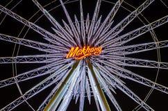 BANGKOK TAJLANDIA, MARZEC, - 30,2016: Ferris koło przy Asiatique th Obrazy Royalty Free