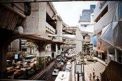 BANGKOK, TAJLANDIA, MARZEC 28, 2013 nieb pociągów wewnątrz Zdjęcie Stock