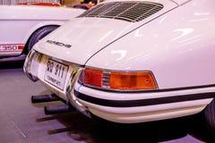 BANGKOK, TAJLANDIA, - MARZEC 11 2018: Rocznik samochodowy Porsche 911 SWB: 1966 pokazywał w klasycznym motorowym przedstawieniu p Fotografia Stock