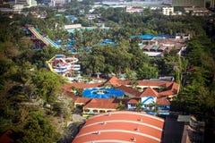 BANGKOK, TAJLANDIA, 2013 30 MARZEC Siam parkowy miasto obraz stock