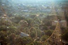 BANGKOK, TAJLANDIA, 2013 30 MARZEC Siam parkowy miasto Fotografia Royalty Free