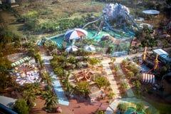 BANGKOK, TAJLANDIA, 2013 30 MARZEC Siam parkowy miasto Obrazy Stock
