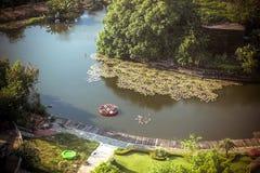 BANGKOK, TAJLANDIA, 2013 30 MARZEC Siam parkowy miasto Obraz Royalty Free
