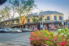 Bangkok Tajlandia, Marzec, - 2, 2017: Wiele samochody wewnątrz i Fotografia Royalty Free