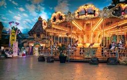 BANGKOK TAJLANDIA, MARZEC, - 04: Wokoło działa w th Obrazy Royalty Free
