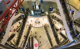 BANGKOK TAJLANDIA, PAŹDZIERNIK, - 15, 2016: Terminal 21 wysoki zakupy Zdjęcia Stock