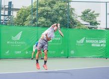 BANGKOK TAJLANDIA, Sierpień, - 27: Toshihide Matsui Japonia w wiatrze Zdjęcie Stock