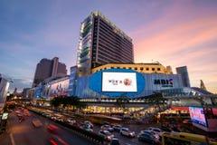 Bangkok, Tajlandia Styczeń 07, 2018: MBK centrum, także znać jak Zdjęcia Stock