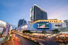 Bangkok, Tajlandia Styczeń 07, 2018: MBK centrum, także znać jak Obrazy Royalty Free