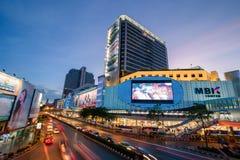 Bangkok, Tajlandia Styczeń 07, 2018: MBK centrum, także znać jak Obraz Royalty Free