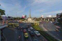 Bangkok, Tajlandia Styczeń 07, 2018: Zwycięstwo zabytek jest mili Zdjęcia Royalty Free