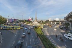 Bangkok, Tajlandia Styczeń 07, 2018: Zwycięstwo zabytek jest mili Obraz Royalty Free