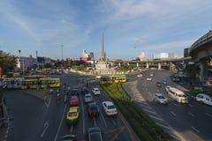 Bangkok, Tajlandia Styczeń 07, 2018: Zwycięstwo zabytek jest mili Obraz Stock