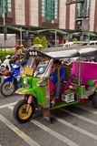 Bangkok taxi Tuktuk Royalty Free Stock Photos