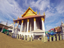 bangkok tempel Arkivfoto