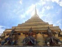 Bangkok-Tempel Gaurdian Lizenzfreie Stockbilder