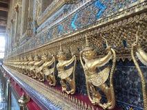 Bangkok-Tempel Gaurdian unbegrenzt Stockfotografie
