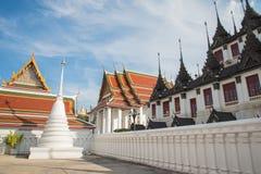 bangkok tempel thailand Royaltyfria Bilder