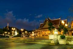 Bangkok Temple. A beautiful place in Bangkok Thailand. Nice sky Stock Image