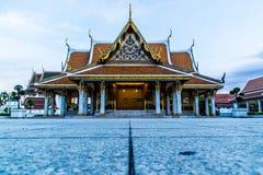 Bangkok Temple. A beautiful place in Bangkok Thailand. Nice sky Stock Images