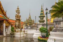 BangKok Temple. Exposure done in Wat Phra Kaew, Bangkok, Thailand Stock Photos