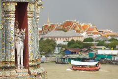 Bangkok temples Royalty Free Stock Images