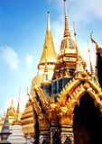Bangkok Temples. Ornate Temples, Bangkok, Thailand royalty free stock photography
