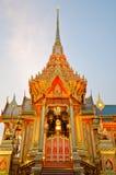 BANGKOK, THAÏLANDE - 11 AVRIL : L'incinération royale Image stock