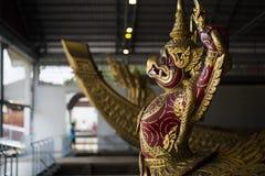 Bangkok, Thaïlande - 12 août 2017 : De Krut Hern de Het de péniche Musée National dedans, Bangkok, Thaïlande Photos libres de droits