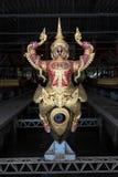 Bangkok, Thaïlande - 12 août 2017 : De Krut Hern de Het de péniche Musée National dedans, Bangkok, Thaïlande Image libre de droits