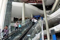 Bangkok, Thaïlande : Centre commercial du terminal 21 Photos stock
