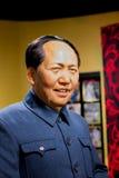 BANGKOK, THAÏLANDE - 19 DÉCEMBRE : Chiffre de cire de Mao Ze célèbre image libre de droits