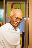 BANGKOK, THAÏLANDE - 19 DÉCEMBRE : Chiffre de cire du Mahatm célèbre Photo libre de droits